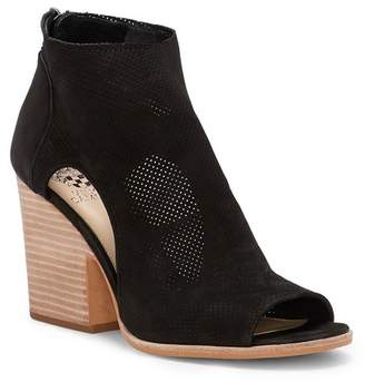 Vince Camuto Bevina Perforated Block Heel Bootie
