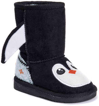 Muk Luks Echo Penguin Toddler Boot - Girl's