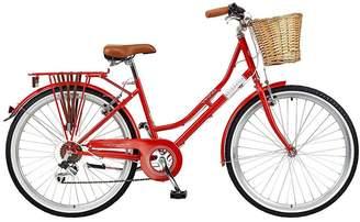Viking Belgravia 16 Inch Frame 26 Inch Wheel 6 Speed Traditional Bike Red
