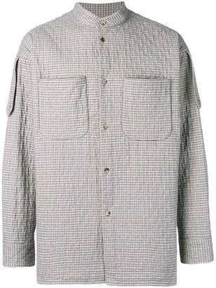 Vivienne Westwood check quilted shirt jacket