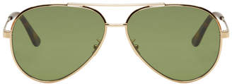 Saint Laurent Gold Classic 11 Zero Sunglasses