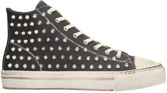 Gienchi J.michel Black Rubber Sneakers