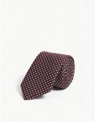 BOSS Mini diamond print tie