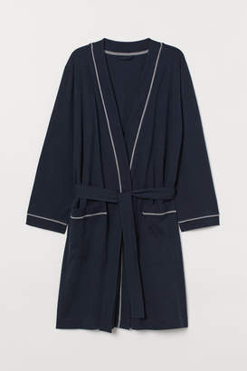 H&M Jersey Bathrobe - Blue