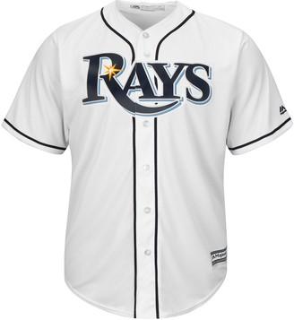 Majestic Men's Tampa Bay Rays Cool Base Replica MLB Jersey