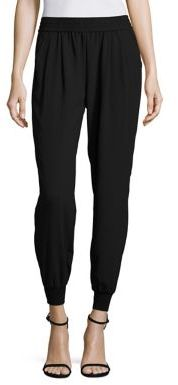 Joie Mariner Crepe Trousers $168 thestylecure.com