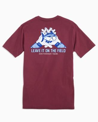 Southern Tide Gameday Skipjack Gloves T-shirt - Texas A&M University