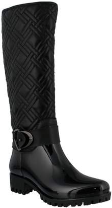Spring Step Water Resistant Quilted Rain Boot -Eris