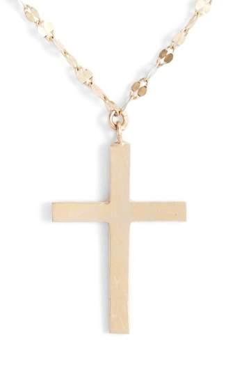 Lana Bond Triple Cross Charm Necklace