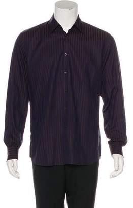 Prada Striped Dress Shirt