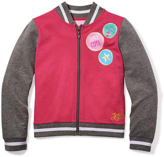 Jacques Moret Jojo Siwa By Danskin Girls Varsity Jacket-Big Kid