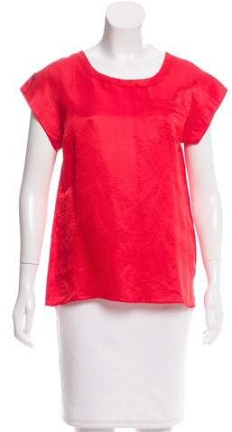 Marc Jacobs Marc Jacobs Short Sleeve Crew Neck Top