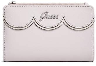 Factory GUESS Women's Saffiano Slim Tech Clutch