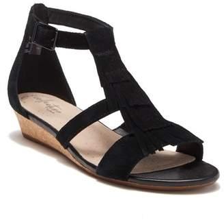 f971955fe9c Clarks Black Suede Upper Women s Sandals - ShopStyle