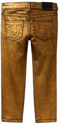 True Religion Metallic Denim Pant (Toddler Boys) $89 thestylecure.com