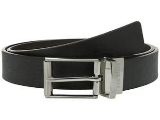 Steve Madden 32mm Saffiano Reversible Belt Men's Belts