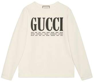 Cities cotton sweatshirt