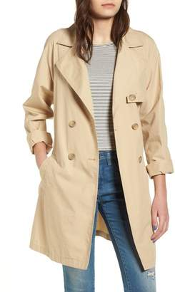 BP Double Breasted Belted Trench Coat