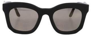 Stella McCartney Mirrored Cat-Eye Sunglasses