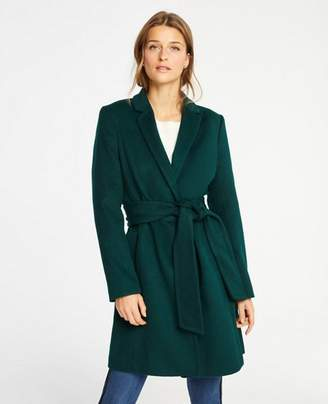 Ann Taylor Tall Belted Chesterfield Coat