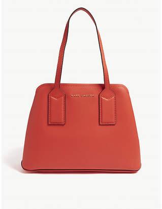 Marc Jacobs Ladies Black Practical The Editor Leather Shoulder Bag
