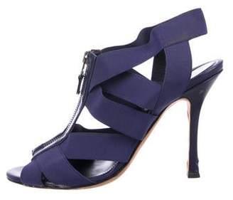 Sergio Rossi Elastic Multi-Strap Sandals