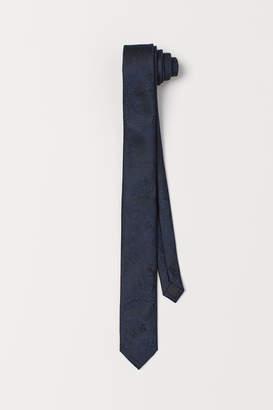 H&M Paisley-patterned Tie - Blue