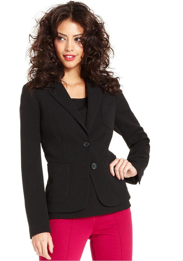 Kensie Jacket, Long-Sleeve Blazer
