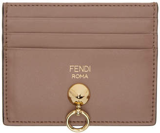 Fendi Pink By The Way Card Holder