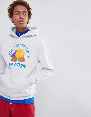 Stussy Hoodie With Kingston Fruits Print