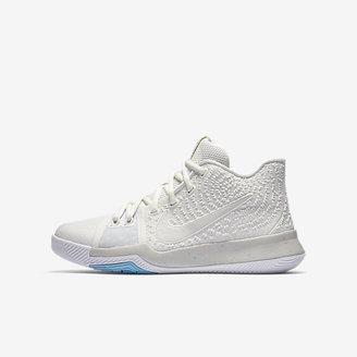 Kyrie 3 Big Kids' Basketball Shoe $100 thestylecure.com