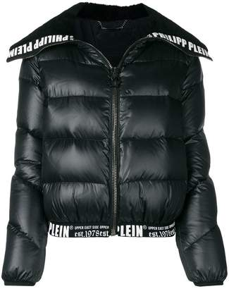 Philipp Plein logo padded jacket