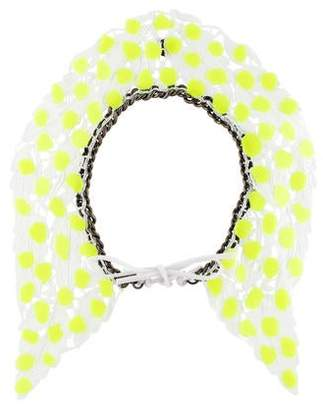 Annelise Michelson Chain & Lace Collar Necklace