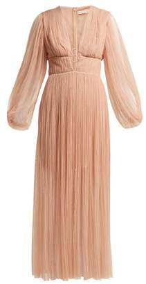 Maria Lucia Hohan Astoria Tulle Dress - Womens - Nude