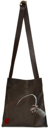 Undercover Brown Suspiria Hook Tote