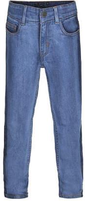 Molo Alon Two-Tone Denim Jeans, Size 4-10