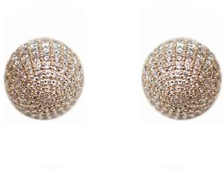 Ri Noor - Diamond Ball Earrings