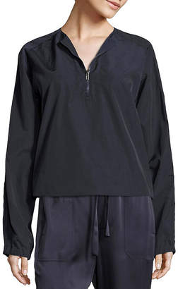 Vince Washed Anoral Pull Over Jacket