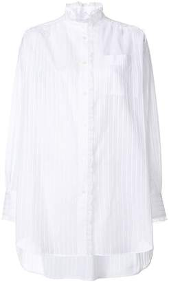 Sonia Rykiel striped embroidered shirt
