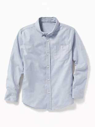 Old Navy Lightweight Built-In Flex Oxford Uniform Shirt for Boys