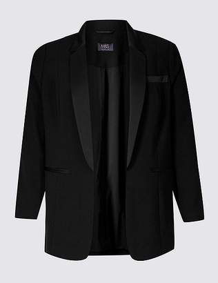 Marks and Spencer CURVE Open Front Blazer