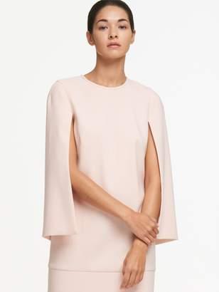 DKNY Crepe Cape Dress