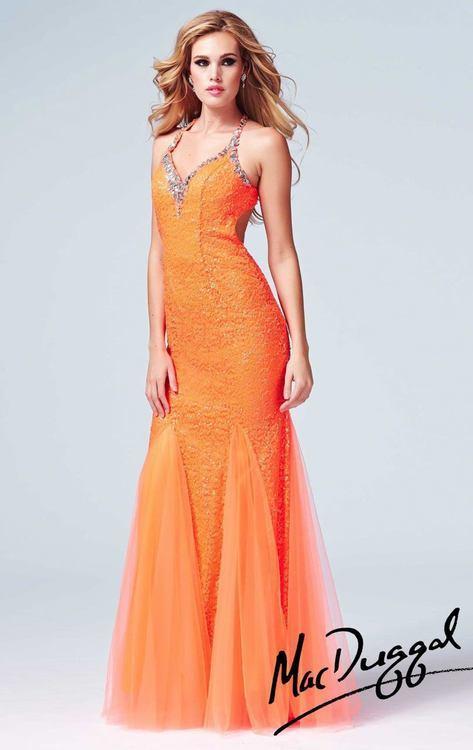 Cassandra Stone - 76562 in Neon Orange