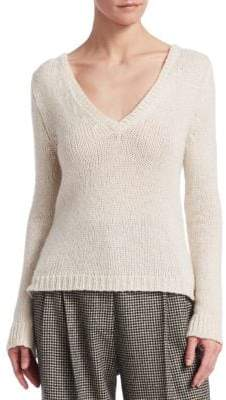 The Row Aetra Cashmere-Blend Pullover