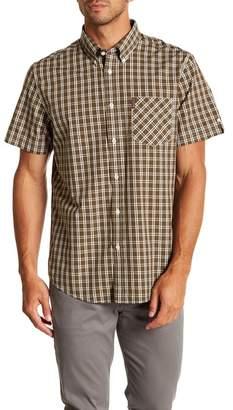 Ben Sherman Mini Windowpane Short Sleeve Regular Fit Shirt