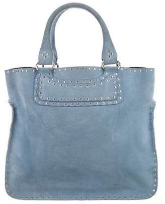 Celine Studded Suede Boogie Bag