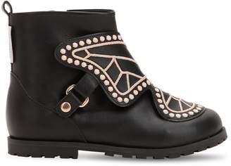 Sophia Webster Karina Studded Leather Ankle Boots