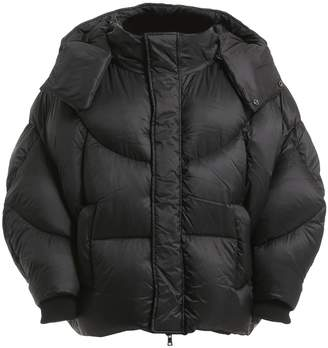 Oversized Hooded Puffer Down Jacket