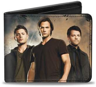 SAM. Buckle Down Buckle-Down Men's Wallet Dean, & Castiel Group + Nothing In Our Lives IS S Accessory,