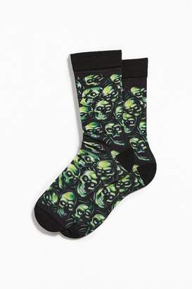 Urban Outfitters Skull Pile Sock